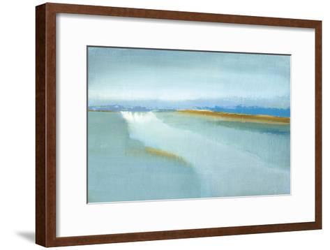 Flow-Caroline Gold-Framed Art Print