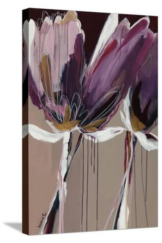 Aubergine Splendor II-Angela Maritz-Stretched Canvas Print