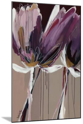 Aubergine Splendor II-Angela Maritz-Mounted Art Print