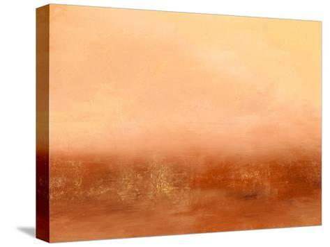 Orange II-Sharon Gordon-Stretched Canvas Print