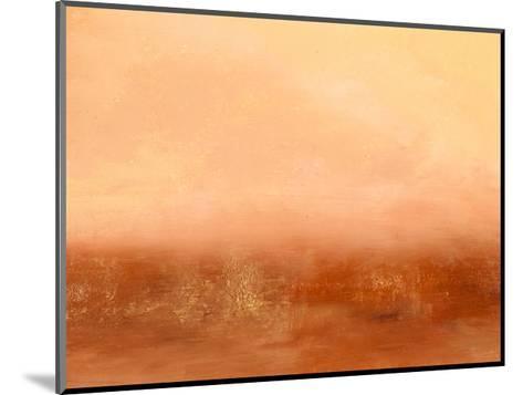 Orange II-Sharon Gordon-Mounted Premium Giclee Print