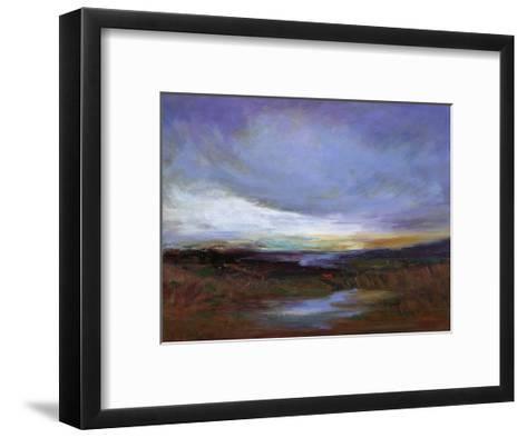 Coastal Wetlands-Sheila Finch-Framed Art Print