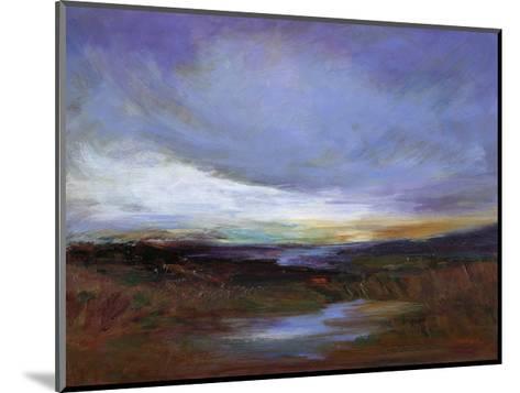 Coastal Wetlands-Sheila Finch-Mounted Premium Giclee Print