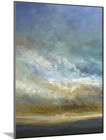 Coastal Clouds Triptych I-Sheila Finch-Mounted Premium Giclee Print