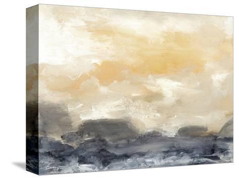 Bay Wave II-Sharon Gordon-Stretched Canvas Print