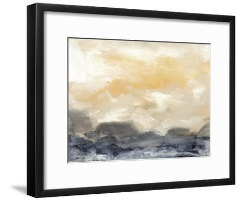 Bay Wave II-Sharon Gordon-Framed Art Print