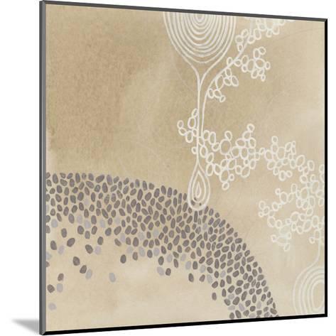 Parchment Prose IV-June Vess-Mounted Premium Giclee Print