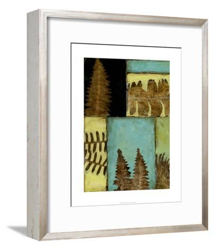 Fossilized Ferns III-Jennifer Goldberger-Framed Art Print