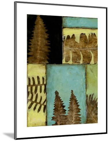 Fossilized Ferns III-Jennifer Goldberger-Mounted Premium Giclee Print