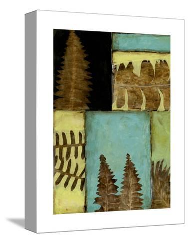 Fossilized Ferns III-Jennifer Goldberger-Stretched Canvas Print
