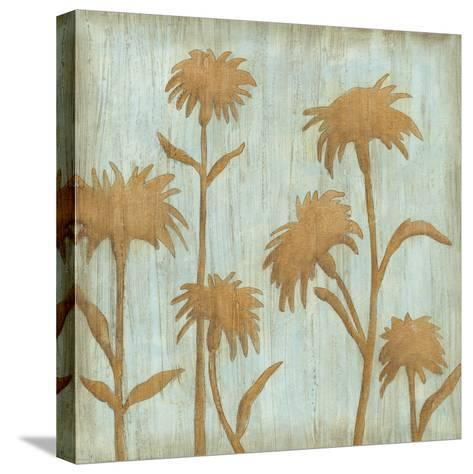 Golden Wildflowers II-Megan Meagher-Stretched Canvas Print