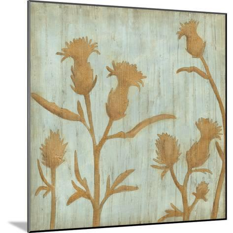 Golden Wildflowers III-Megan Meagher-Mounted Premium Giclee Print