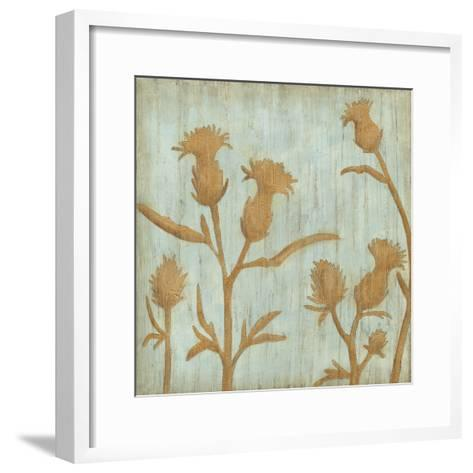 Golden Wildflowers III-Megan Meagher-Framed Art Print