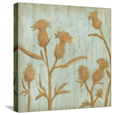Golden Wildflowers III-Megan Meagher-Stretched Canvas Print