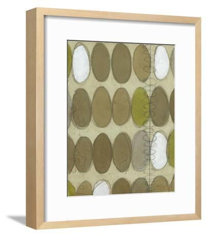 Repeating Orbits II-Jennifer Goldberger-Framed Art Print