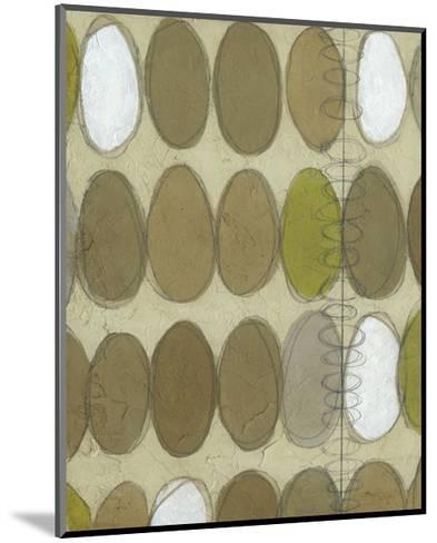 Repeating Orbits II-Jennifer Goldberger-Mounted Premium Giclee Print
