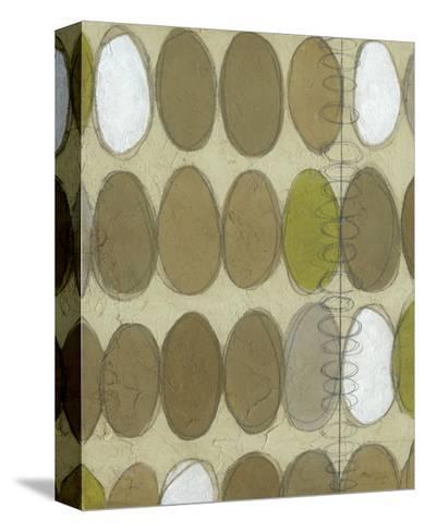 Repeating Orbits II-Jennifer Goldberger-Stretched Canvas Print