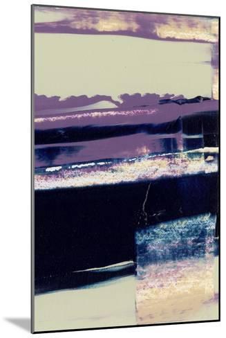 Violet Fusion II-Sharon Gordon-Mounted Premium Giclee Print