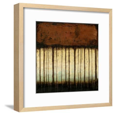 Autumnal Abstract III-Jennifer Goldberger-Framed Art Print