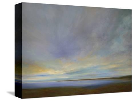 Coastal Clouds IV-Sheila Finch-Stretched Canvas Print