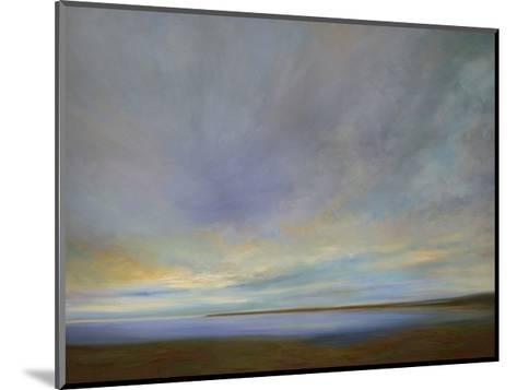 Coastal Clouds IV-Sheila Finch-Mounted Premium Giclee Print