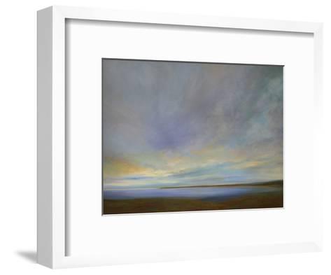 Coastal Clouds IV-Sheila Finch-Framed Art Print