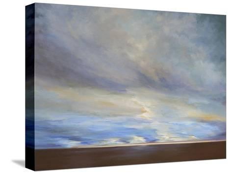 Coastal Clouds II-Sheila Finch-Stretched Canvas Print