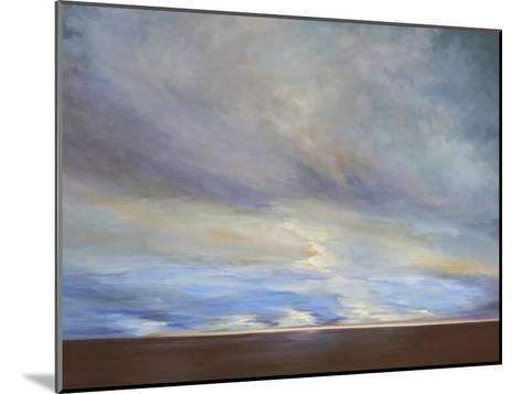 Coastal Clouds II-Sheila Finch-Mounted Premium Giclee Print