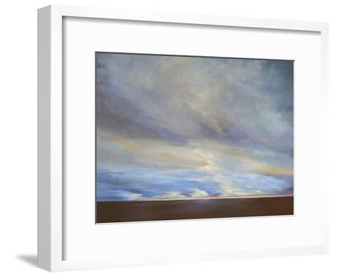 Coastal Clouds II-Sheila Finch-Framed Art Print