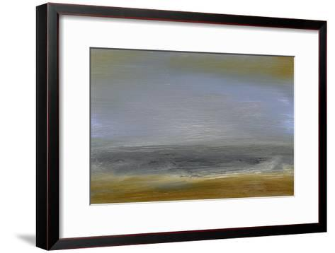 Solitude Sea II-Sharon Gordon-Framed Art Print