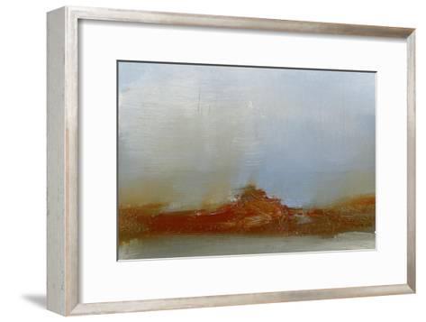 Red Horizon IV-Sharon Gordon-Framed Art Print