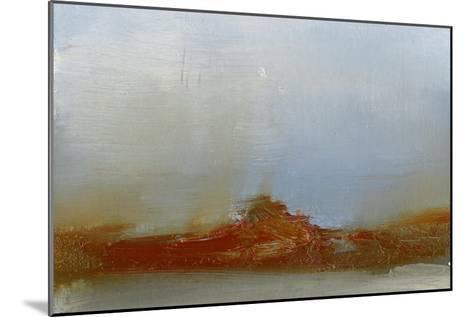 Red Horizon IV-Sharon Gordon-Mounted Premium Giclee Print