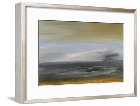 Solitude Sea I-Sharon Gordon-Framed Art Print
