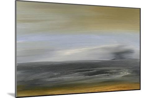 Solitude Sea I-Sharon Gordon-Mounted Premium Giclee Print