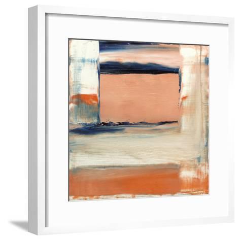 Orange & Blue II-Sharon Gordon-Framed Art Print