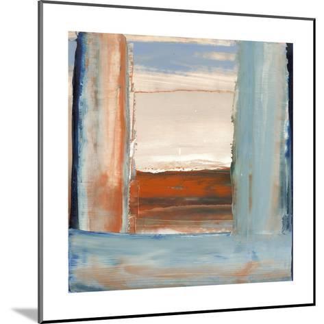 Orange & Blue I-Sharon Gordon-Mounted Premium Giclee Print