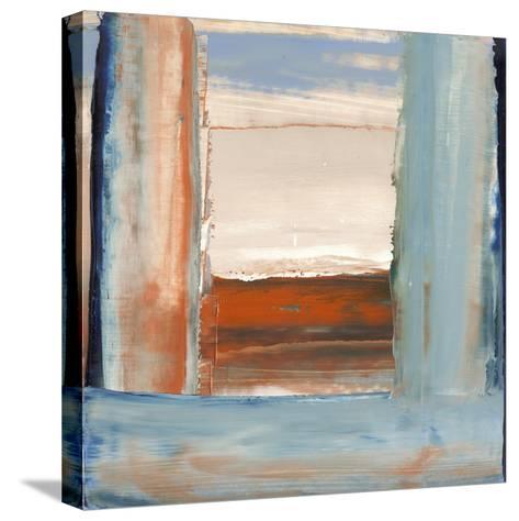 Orange & Blue I-Sharon Gordon-Stretched Canvas Print
