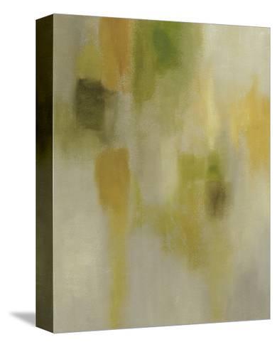 Lotus Reflection I-Chariklia Zarris-Stretched Canvas Print