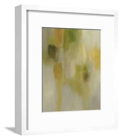 Lotus Reflection I-Chariklia Zarris-Framed Art Print