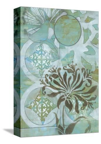 Delicate Collage I-Jennifer Goldberger-Stretched Canvas Print