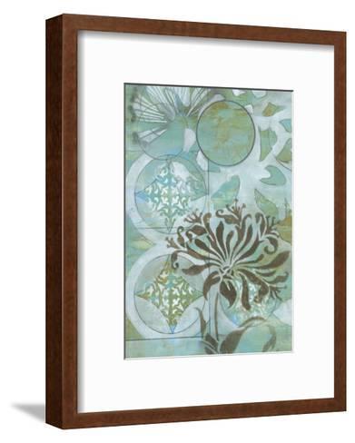 Delicate Collage I-Jennifer Goldberger-Framed Art Print