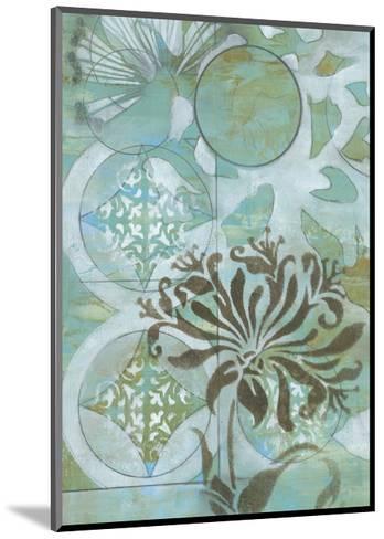 Delicate Collage I-Jennifer Goldberger-Mounted Premium Giclee Print