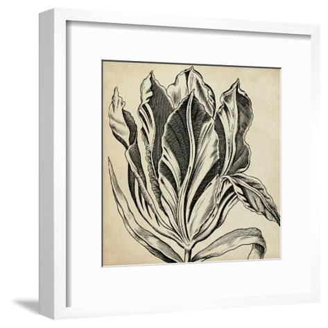 Graphic Floral I-Vision Studio-Framed Art Print