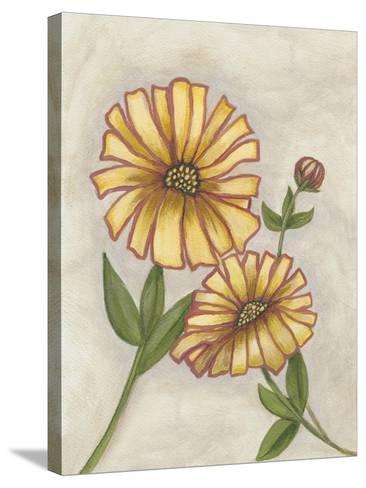 Flower Medley I-Georgina Weddell-Stretched Canvas Print