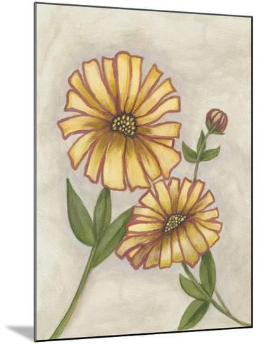 Flower Medley I-Georgina Weddell-Mounted Art Print