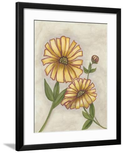 Flower Medley I-Georgina Weddell-Framed Art Print