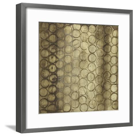 Circular Imprint I-Jennifer Goldberger-Framed Art Print