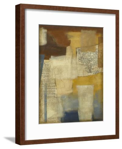 London News II-Megan Meagher-Framed Art Print