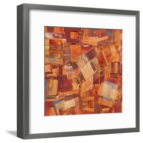 Square Dance II-Sharon Gordon-Framed Art Print