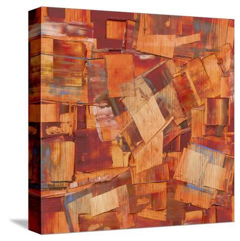 Square Dance II-Sharon Gordon-Stretched Canvas Print